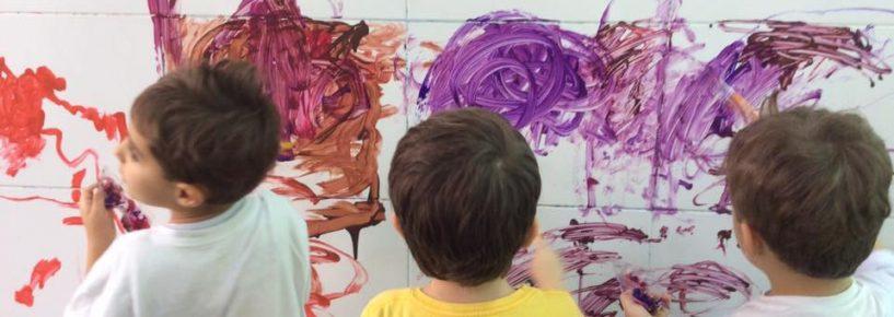 Pintura no azulejo