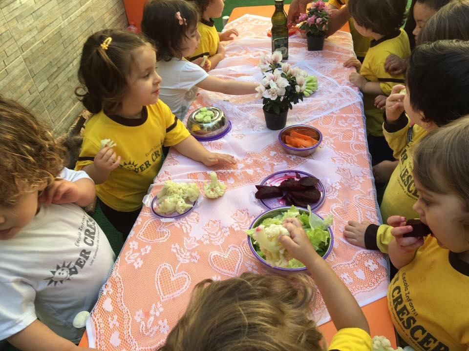 Projeto Alimentação Saudável / Horta