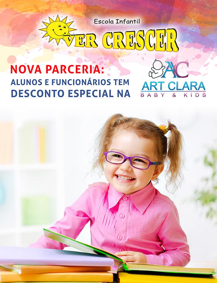 Parceria com Art Clara Baby & Kids