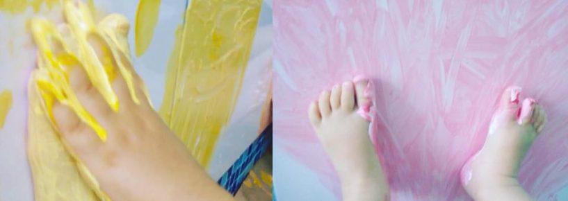 Vídeo – Arte com os pés