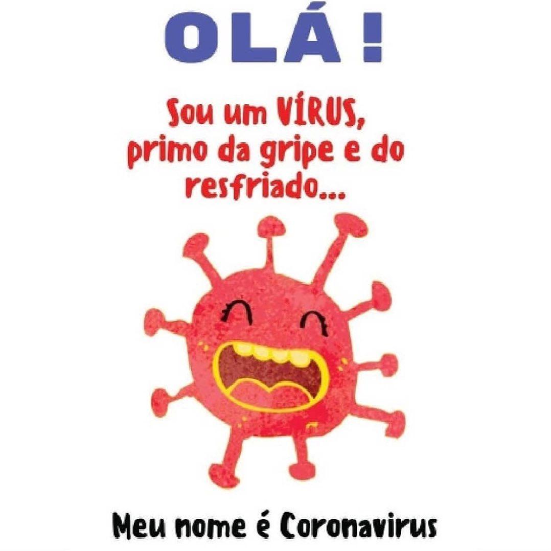 Explicando o coronavírus para as crianças
