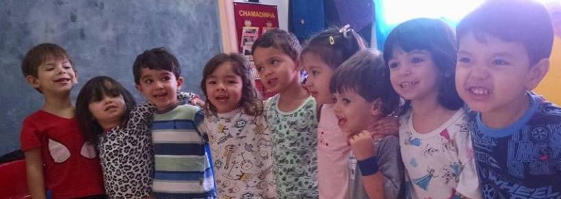 Ser Criança: Festa do pijama e Fantasia