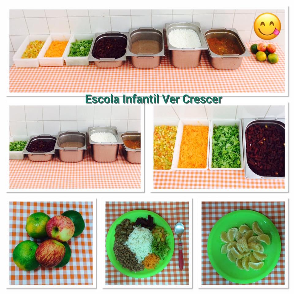 Alimentação Saudável na Ver Crescer