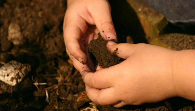 Crianças sujas, crianças saudáveis