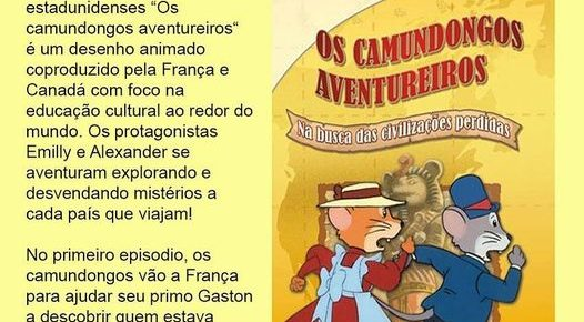 Os camundongos aventureiros