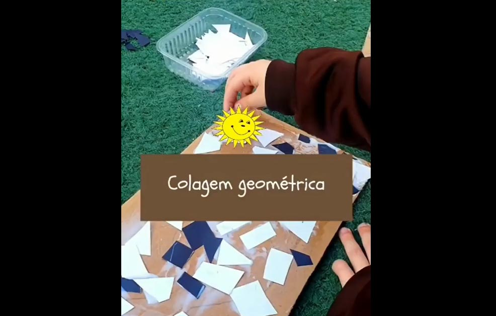 Colagem Geométrica