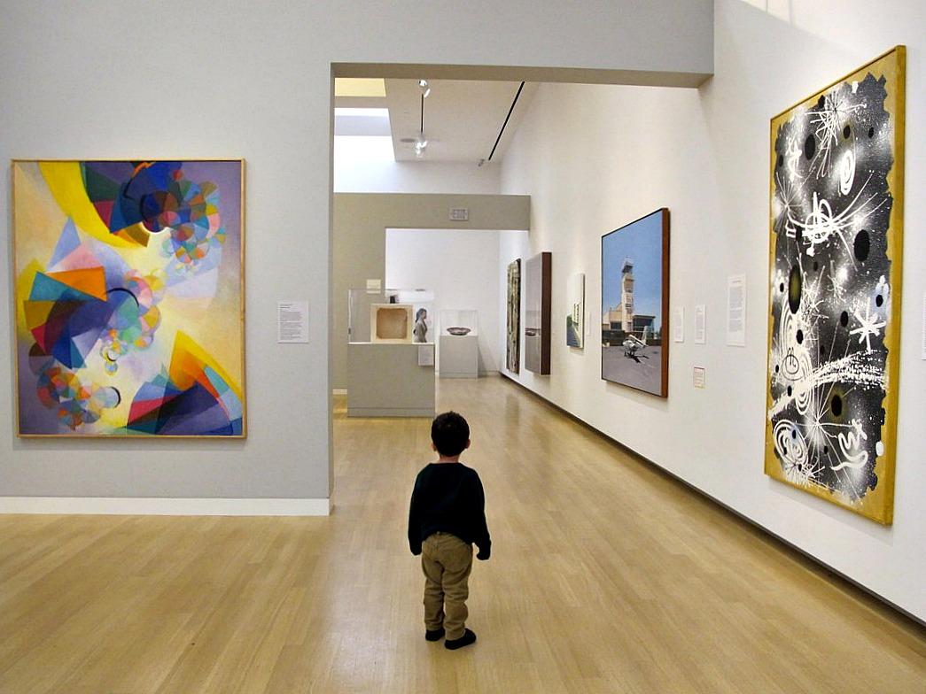 Por que você deve levar seu filho a museus?
