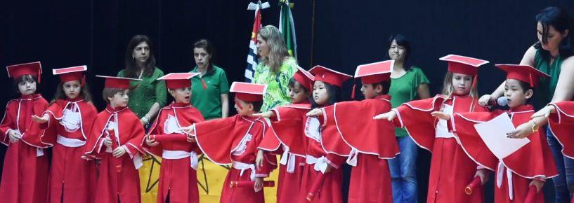 Formatura infantil Escola Ver Crescer 2018