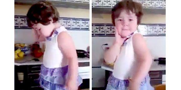 Vídeo: seu filho também faz isso quando vê uma câmera?